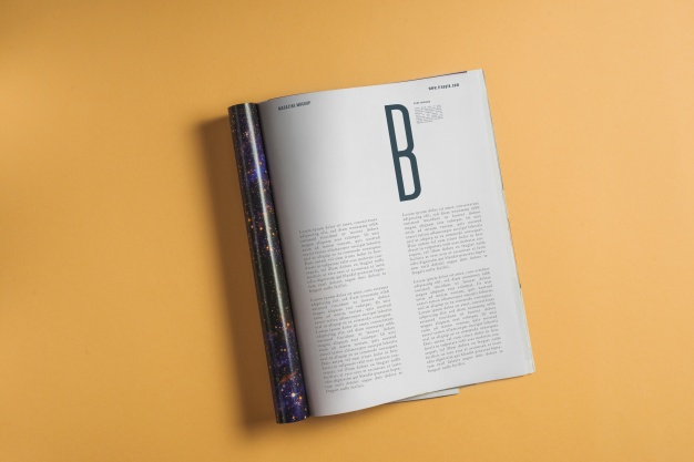 Magazine Mockup Vectors, Photos and PSD files.