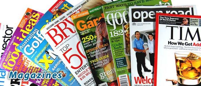 Magazines clip art.