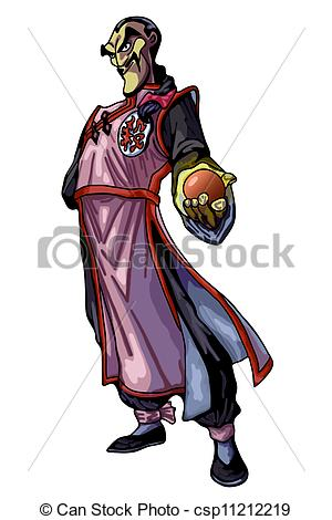 Clipart of mage.