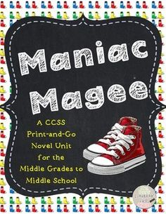 Maniac Magee Movie This is the T.V. movie of Maniac Magee. THIS.