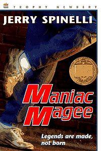 Maniac magee clipart.