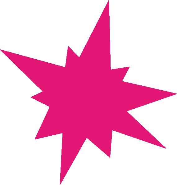 Magenta Burst Clip Art at Clker.com.