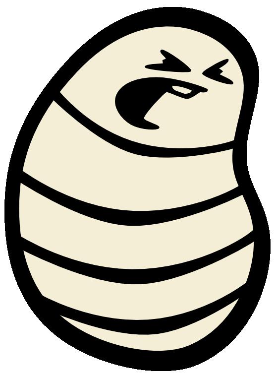 Maggot Clipart.