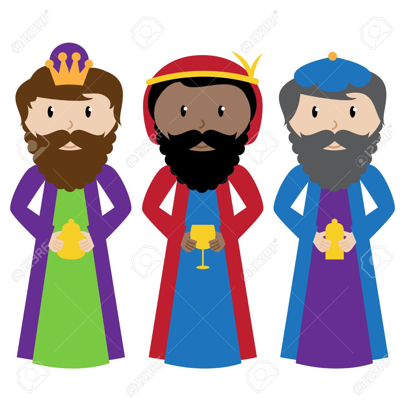 clipart reyes magos #13