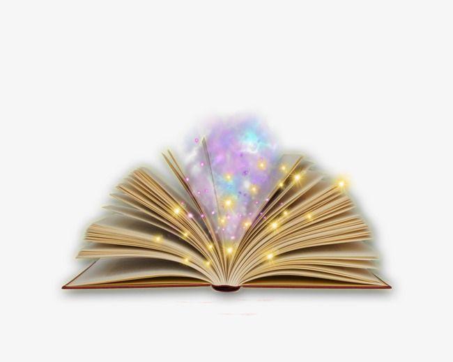 Magic Book, Magic Clipart, Book Clipart, Book PNG.