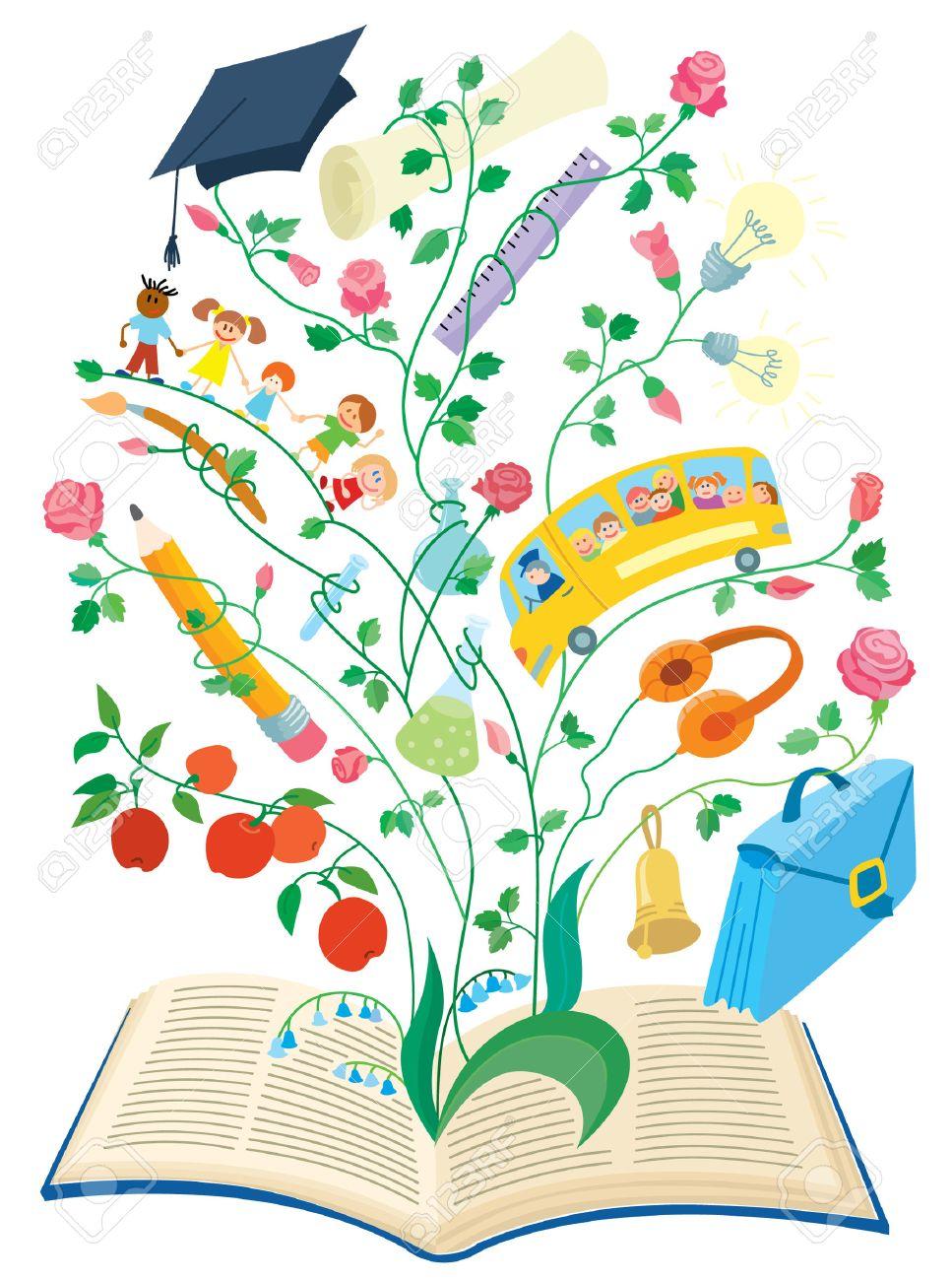 The magic book..