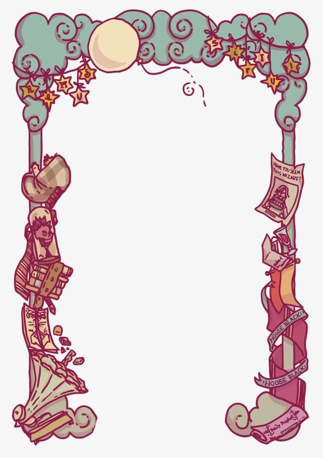 Magic border clipart 4 » Clipart Portal.