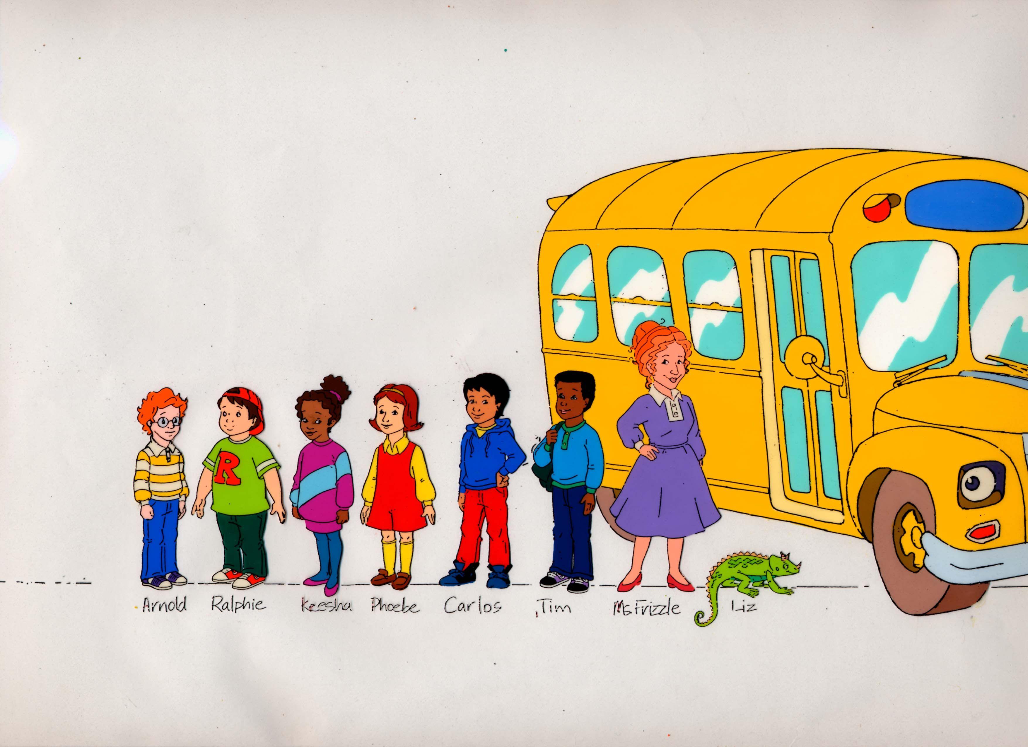 Magic School Bus.