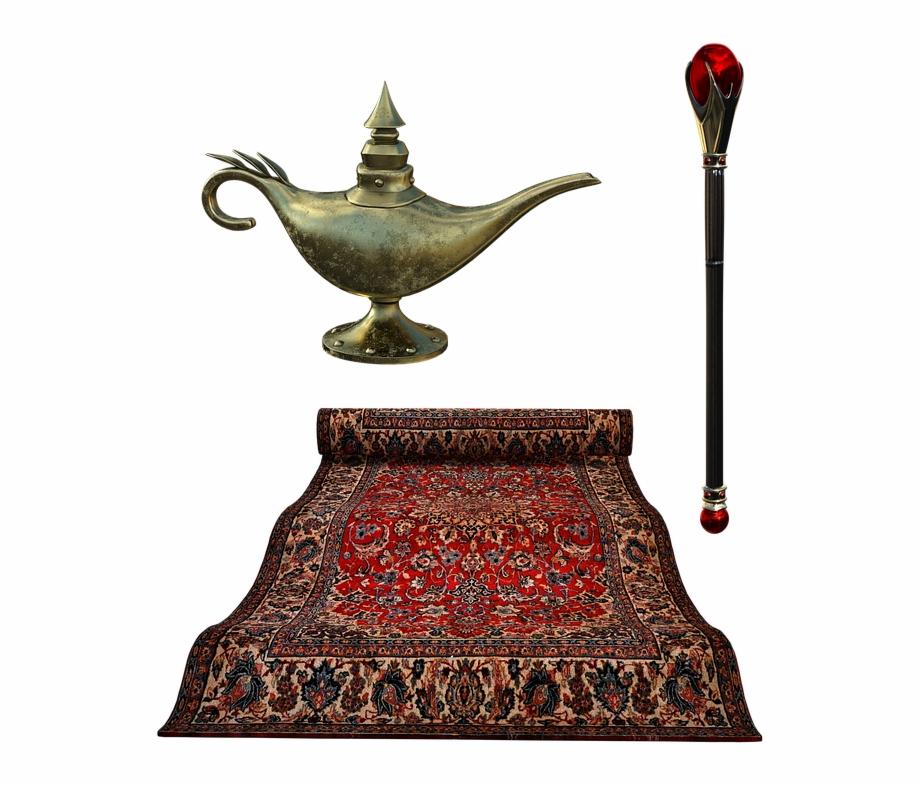 Flying Carpet Lamp Septure Carpet Rug Golden Sky.