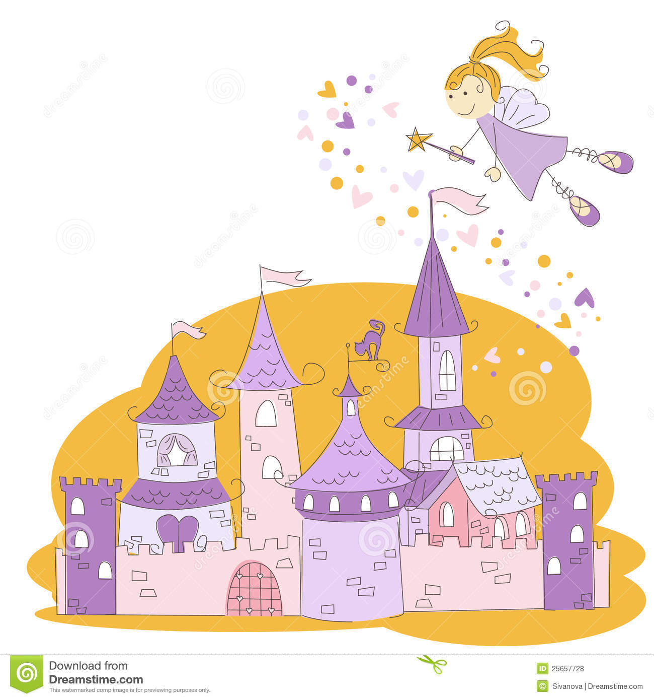 Magic Castle Clipart.