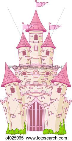 Clipart of Magic Castle k4025965.