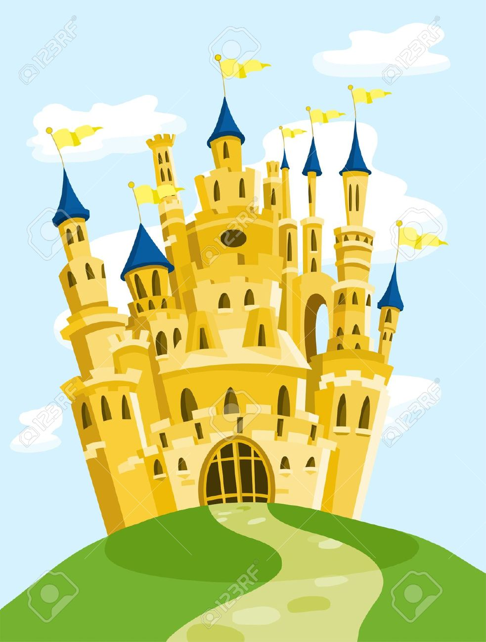 Magic Castle Royalty Free Cliparts, Vectors, And Stock.