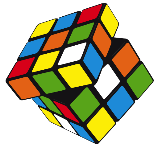 Rubik Cube Vector.