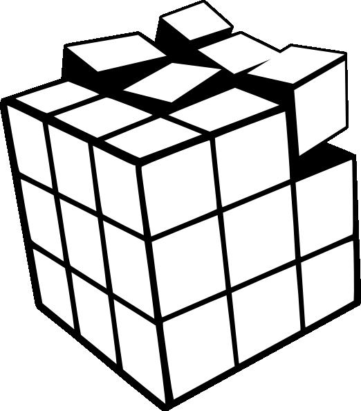 Rubiks Cube 3d Clip Art at Clker.com.
