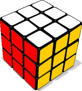 Rubik Cube Game Clip Art at Clker.com.