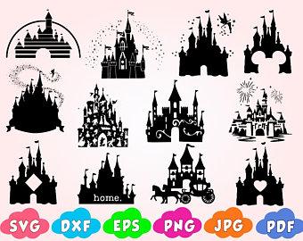 Magic kingdom svg.