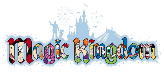 Disney World Magic Kingdom Clipart.
