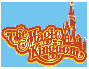 Disney Magic Kingdom Logos Clipart.