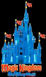 Magic Kingdom Disney World Clipart.