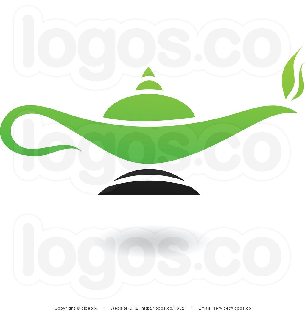 Magic Genie Lamp Clipart.