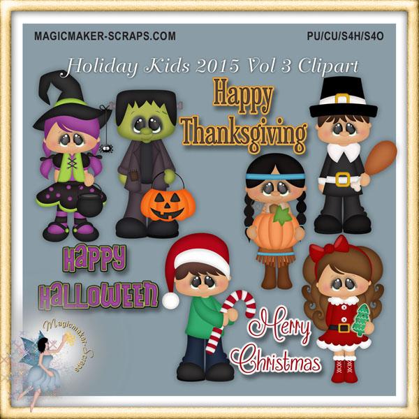 Christmas Ornaments Kids Clipart.