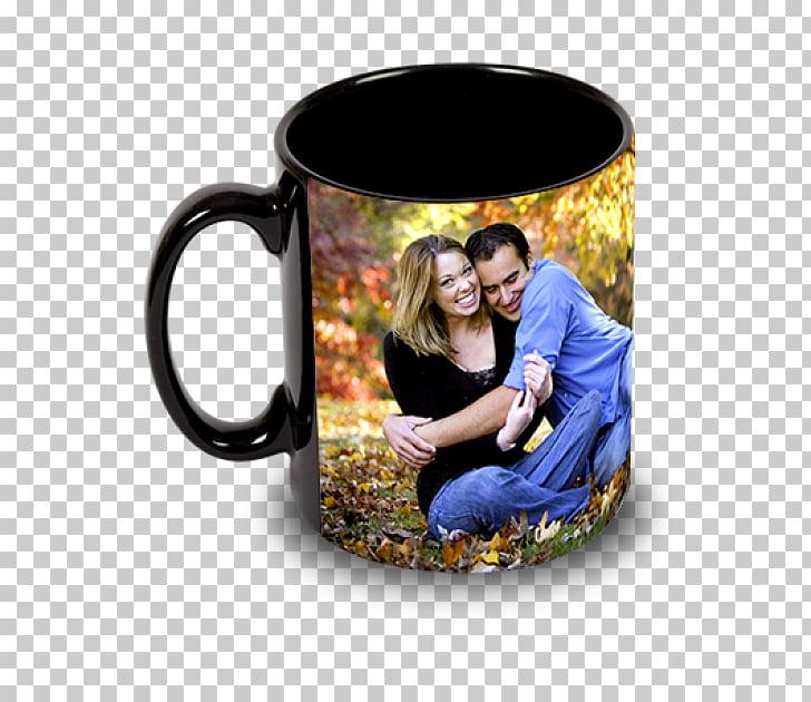 Magic mug Printing Coffee cup Personalization, mug PNG.