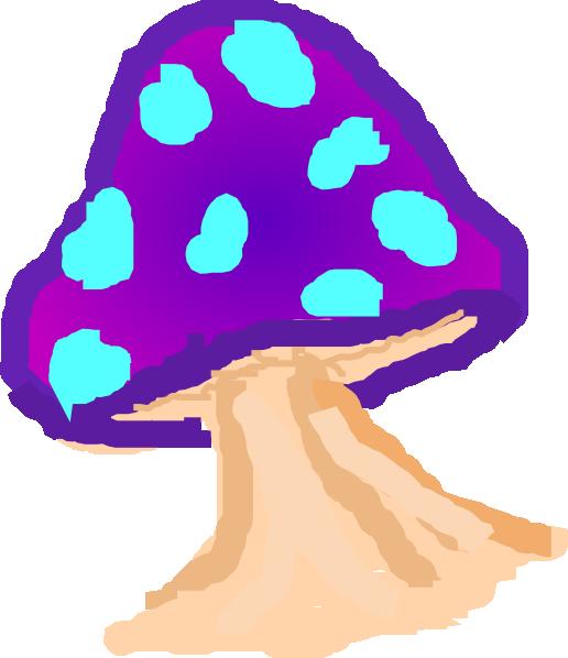 Magic Mushroom Clip Art at Clker.com.