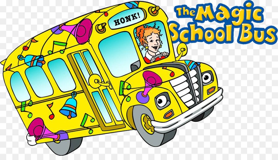 Magic School Bus clipart.
