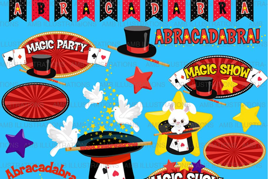 Magic Show Clipart AMB.