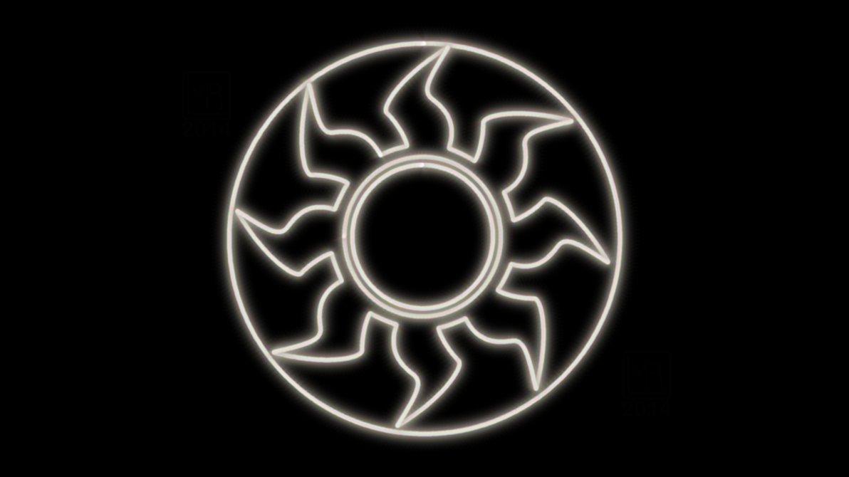 Showing post & media for Magic the gathering white mana symbol.