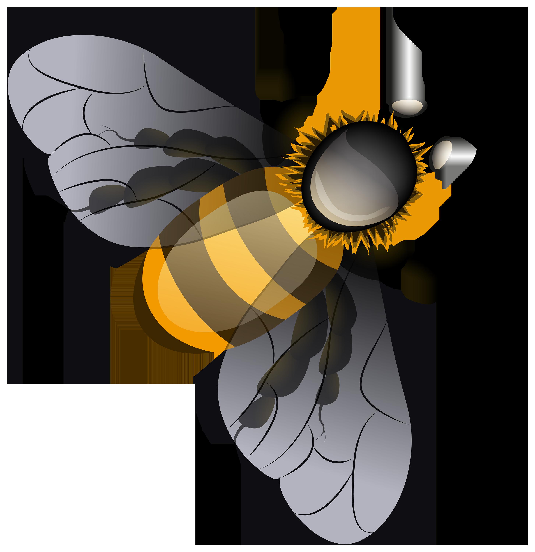 Bee PNG Clip Art.