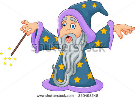 Merlin Wizard Stock Images, Royalty.