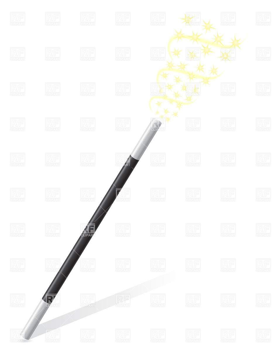 Showing post & media for Cartoon magic wand that sparkles.