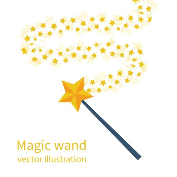 Best Magic Wand Illustrations, Royalty.