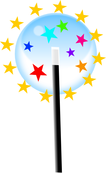 Magic Stars Clipart.