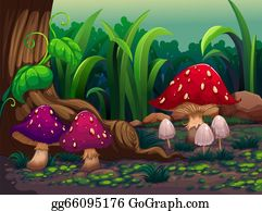Enchanted Forest Clip Art.