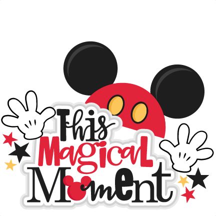 This Magical Moment Title SVG scrapbook cut file cute clipart.
