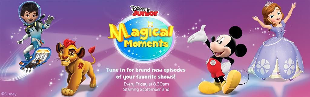 Disney Junior Magical Moments.