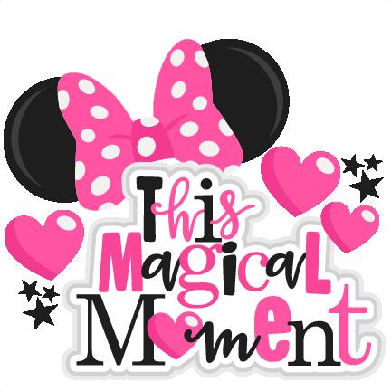 This Magical Moment Title SVG scrapbook cut file cute clipart.