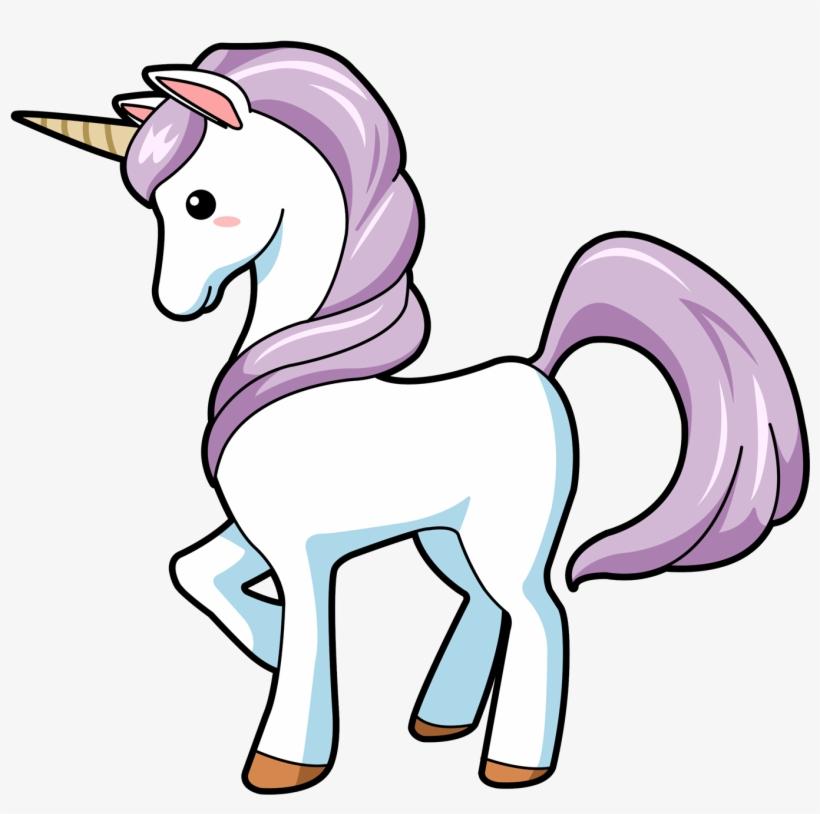 Unicorn Clipart Set, Cute Magical Unicorn Clipart,.