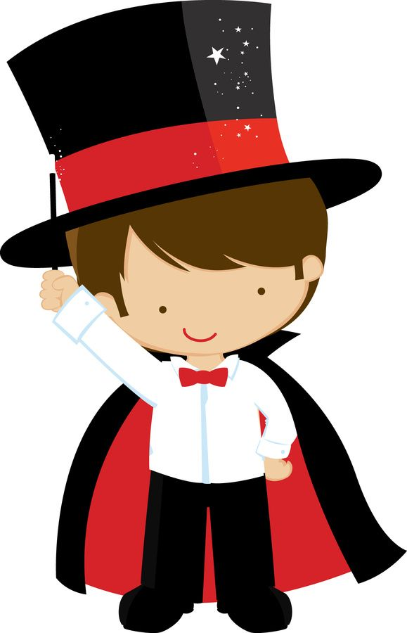 Kids magician clipart png free.