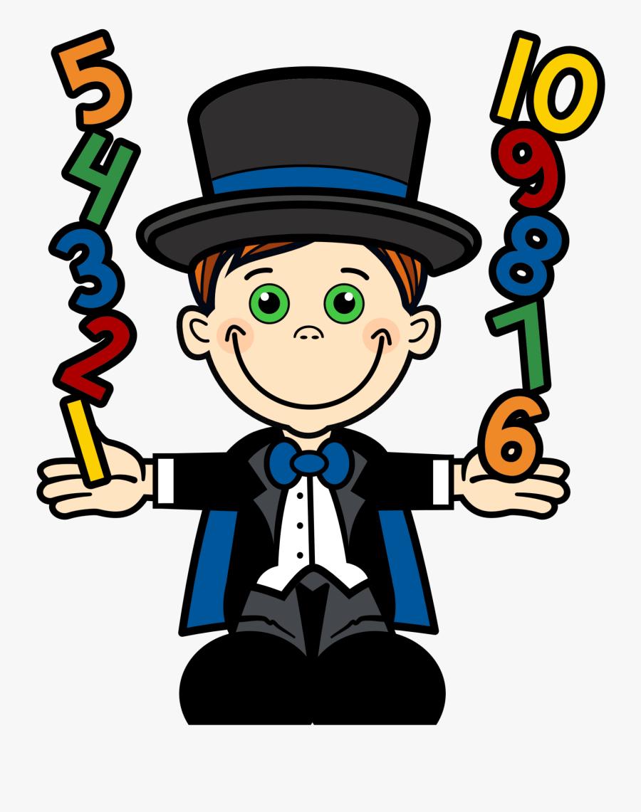 Magician Clipart Math.