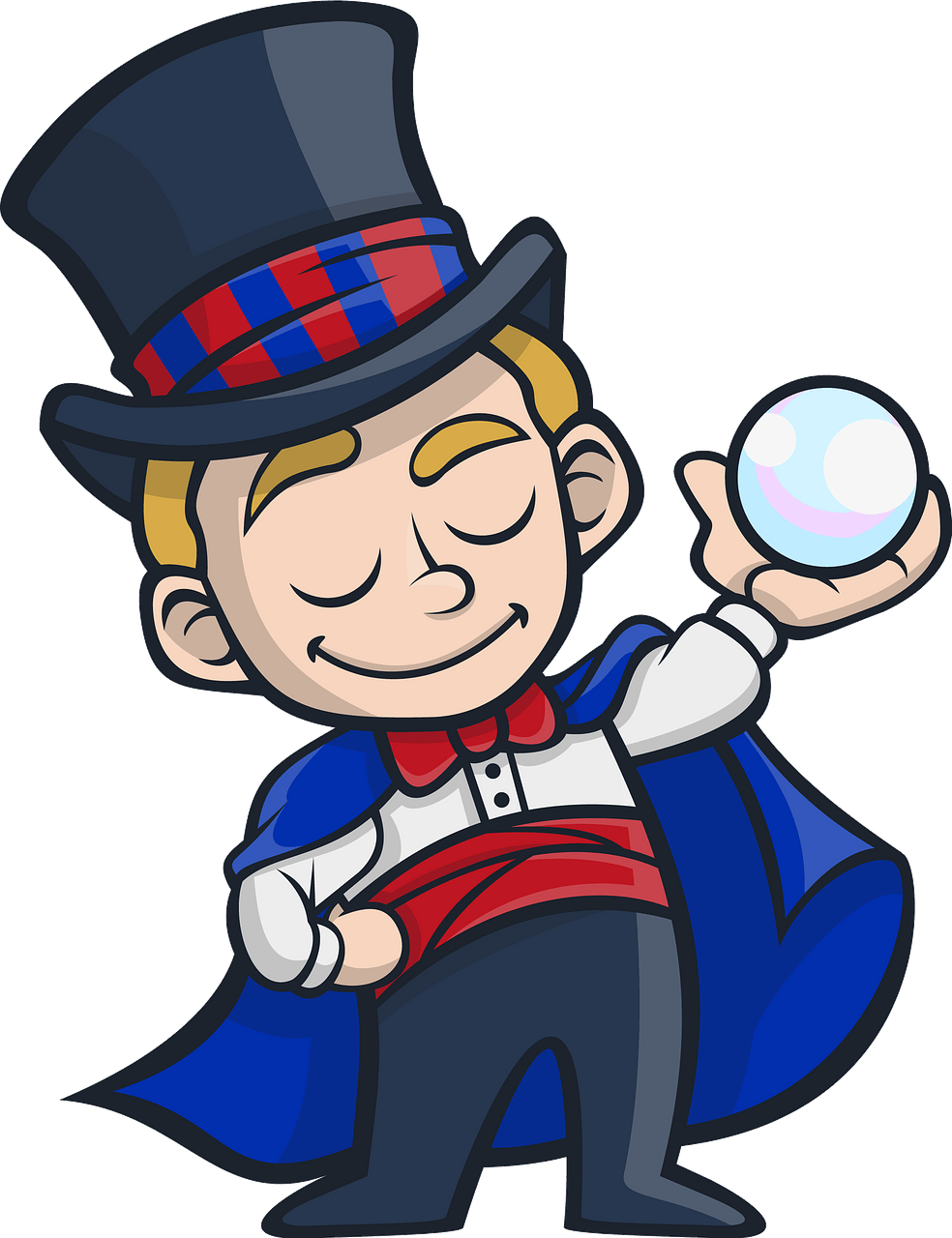 Magician clipart. Free download..