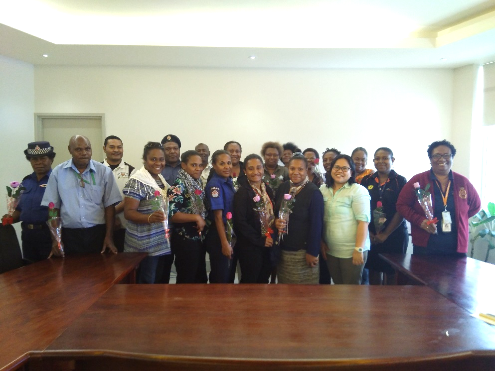 Femili PNG and partners meet in POM.