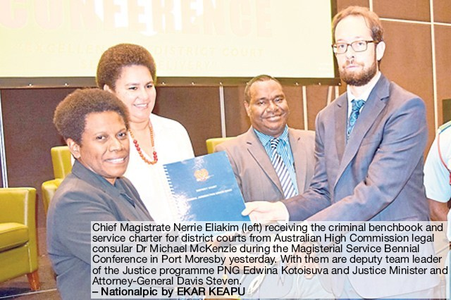 Provinces urged to report why they need more magistrates.