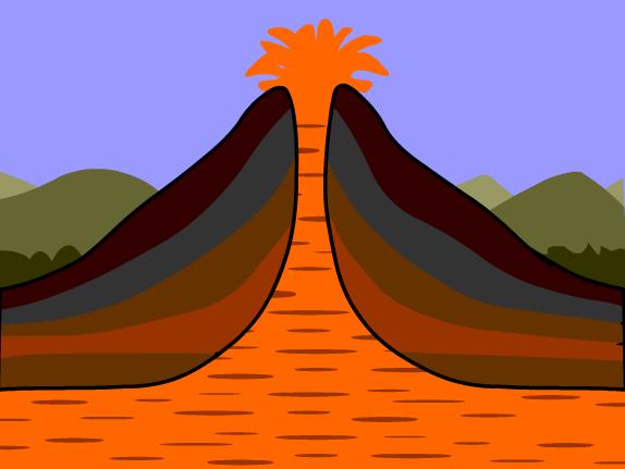 Magma Clipart.