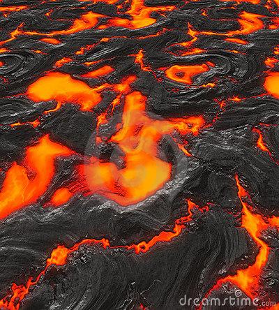 Lava And Magma Clipart.
