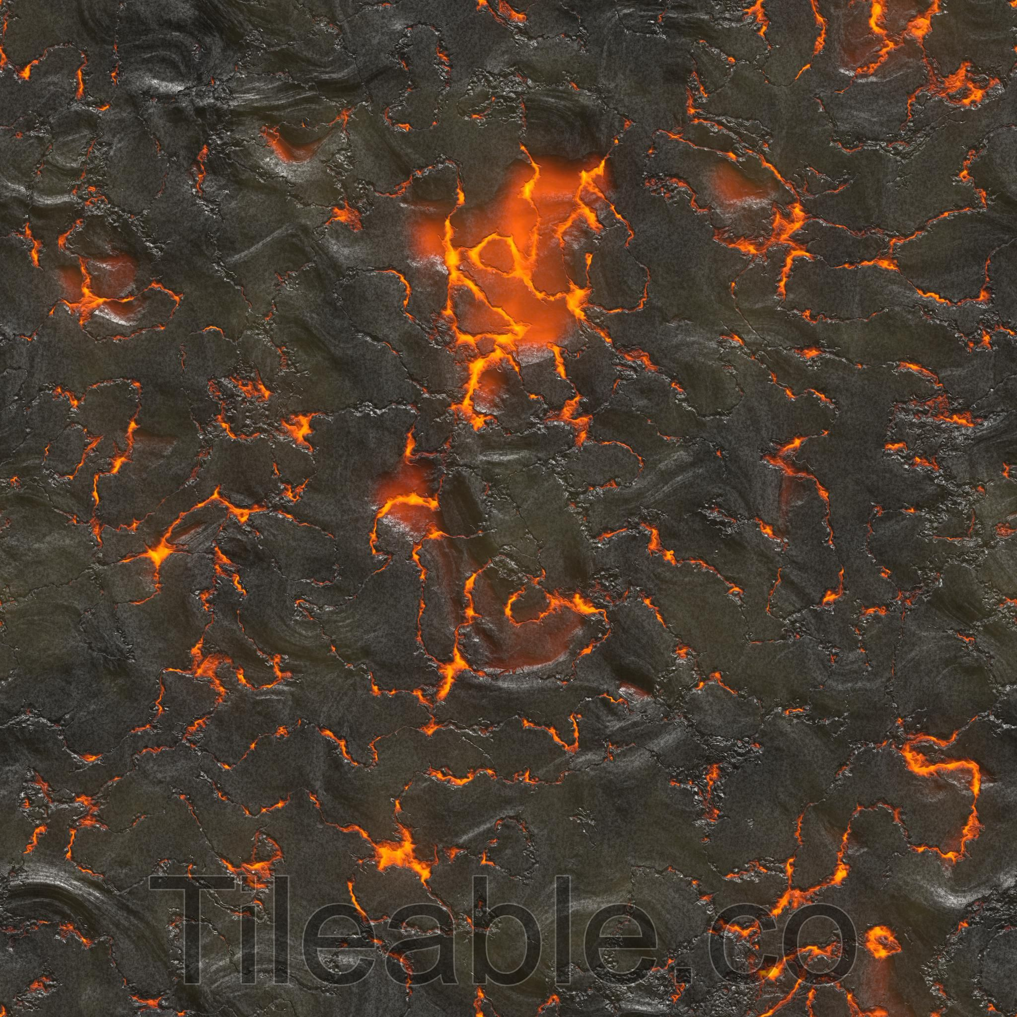 Volcano magma.