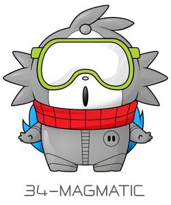 Magmatic.