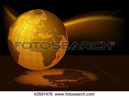 Stock Illustration of Earth Magmatic k0591476.